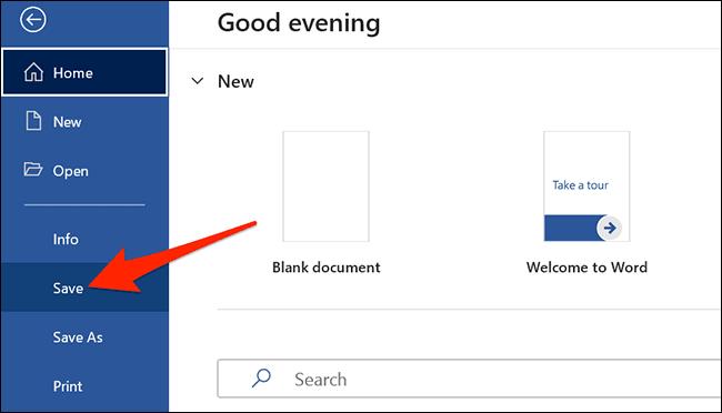 save word document - نحوه تبدیل اسناد با فرمت DOCX به یک فایل PPTX