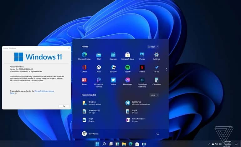 windows11.15 - افشای تصاویر جدید از ویندوز 11 مایکروسافت