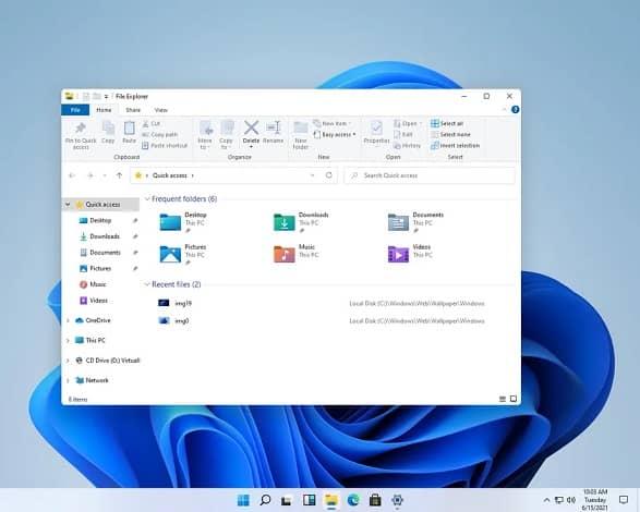 windows11 2 - افشای تصاویر جدید از ویندوز 11 مایکروسافت