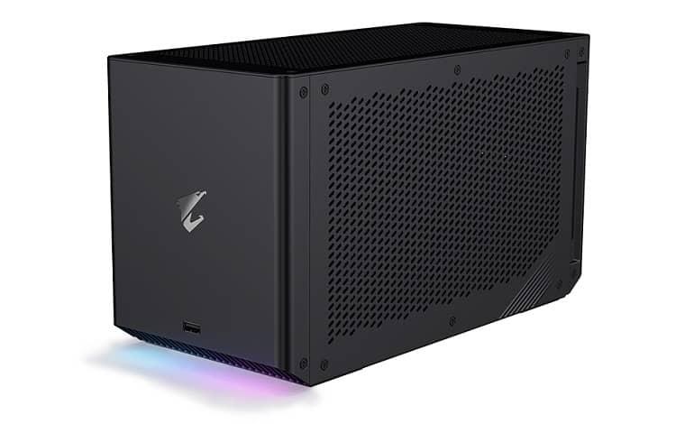 AORUS RTX 3080 Ti GAMING BOX 01 - گیگابایت از AORUS Gaming Box 2021 رونمایی کرد