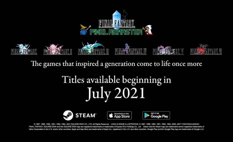 Final Fantasy I III remasters coming to Android and iOS in late July - ریمستر فاینال فانتزی I-III در اواخر ماه جولای به اندروید و iOS می آید