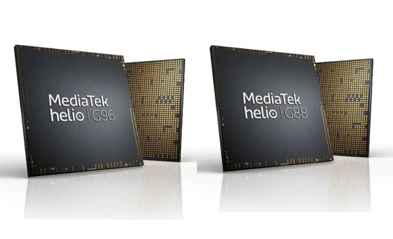 MediaTek Helio G96 G88 - مدیاتک از تراشه جدید هلیو G96 و G88 رونمایی کرد