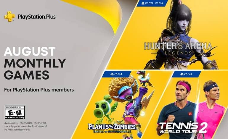 PlayStation Plus August 2021 - بازی های رایگان ماه آگوست 2021 پلی استیشن پلاس اعلام شدند