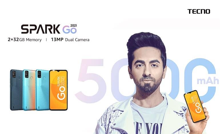 Tecno Spark Go 2021 - گوشی اقتصادی تکنو اسپارت گو 2021 معرفی شد