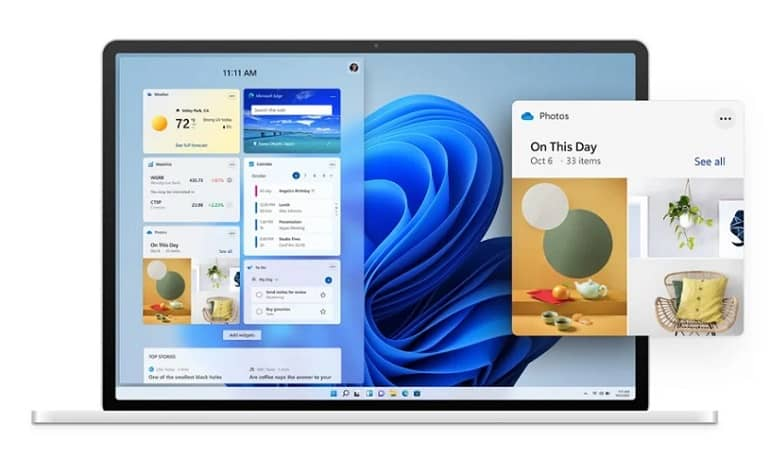 Windows 11 Widgets - انتشار اولین نسخه بتای ویندوز 11 برای اعضای ویندوز اینسایدر