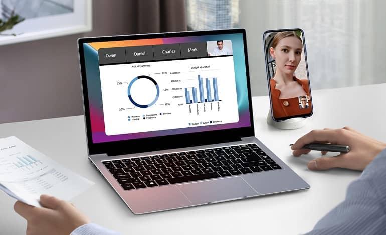 blackview acebook1 laptop launches 1 - عرضه لپ تاپ جدید بلک ویو AceBook1 با عمر باتری 13 ساعت
