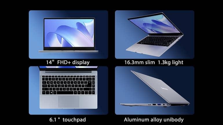 blackview acebook1 laptop launches 2 - عرضه لپ تاپ جدید بلک ویو AceBook1 با عمر باتری 13 ساعت