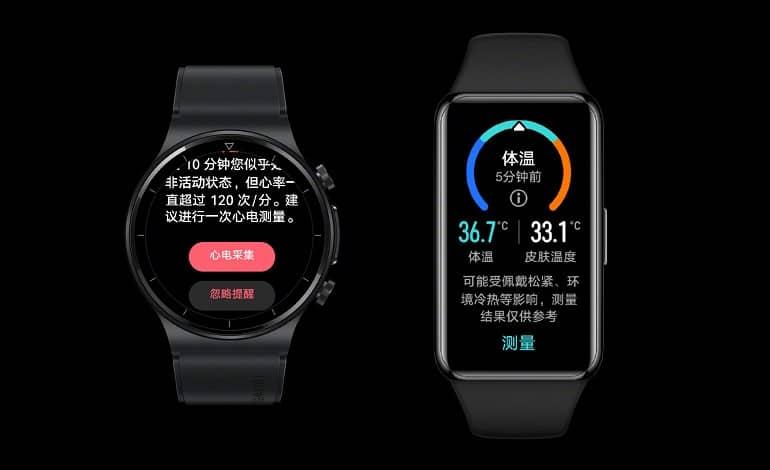 huawei watch gt 2 pro ecg band 6 pro ofic - هواوی Watch GT 2 Pro ECG و Band 6 Pro معرفی شدند