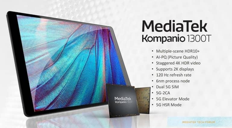 mediatek kompanio 1300t announced 1 - مدیاتک از تراشه Kompanio 1300T رونمایی کرد
