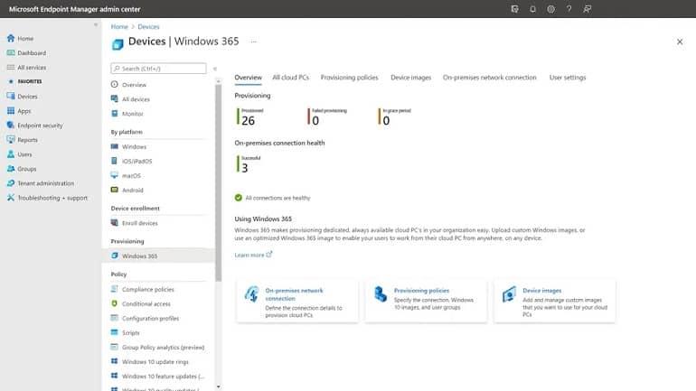 windows365management - مایکروسافت ویندوز 365 رونمایی شد
