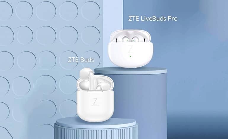 zte buds livebuds pro ofic - عرضه ایربادز ZTE Buds و ZTE LiveBuds Pro