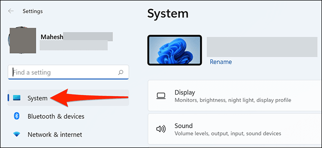 1 system settings - آموزش غیرفعال کردن Snap Layouts در ویندوز 11