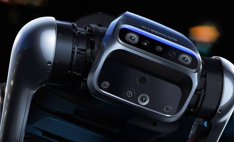 CyberDog cameras - شیائومی از سگ رباتیک جدید CyberDog رونمایی کرد