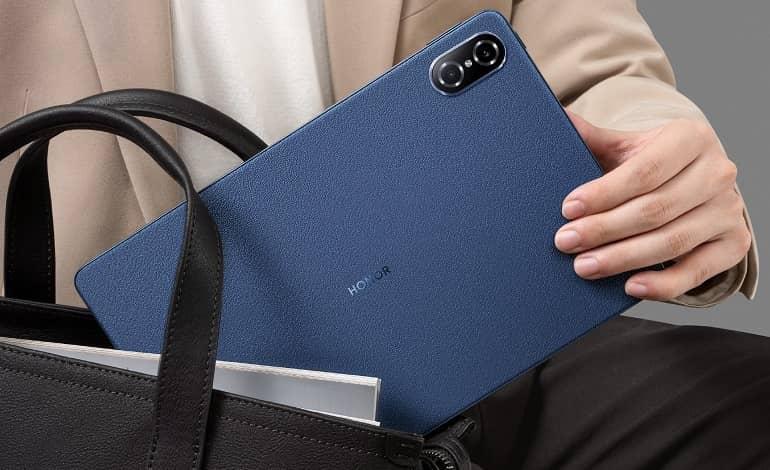 Honor Tab V7 Pro Blue - تبلت آنر تب V7 پرو با تراشه Kompanio 1300T رونمایی کرد