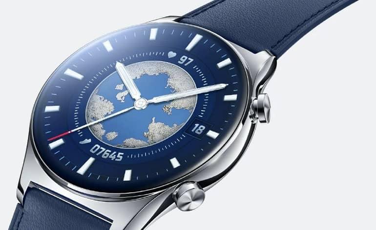Honor Watch GS 3 featured - آنر واچ GS 3 با سنسور 8 کاناله PPG برای اندازه گیری ضربان قلب در راه است
