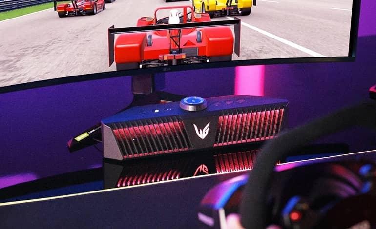 LG UltraGear GP9 Gaming speaker - رونمایی ال جی از اولین اسپیکر گیمینگ UltraGear GP9