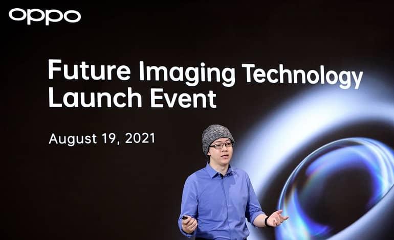 OPPO Imaging Director Simon Liu - رونمایی اوپو از لرزشگیر 5 محوره و سنسور RGBW CMOS
