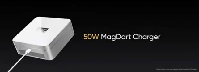 Realme 50W MagDart Charger - ریلمی از اکوسیستم MagDart رونمایی کرد