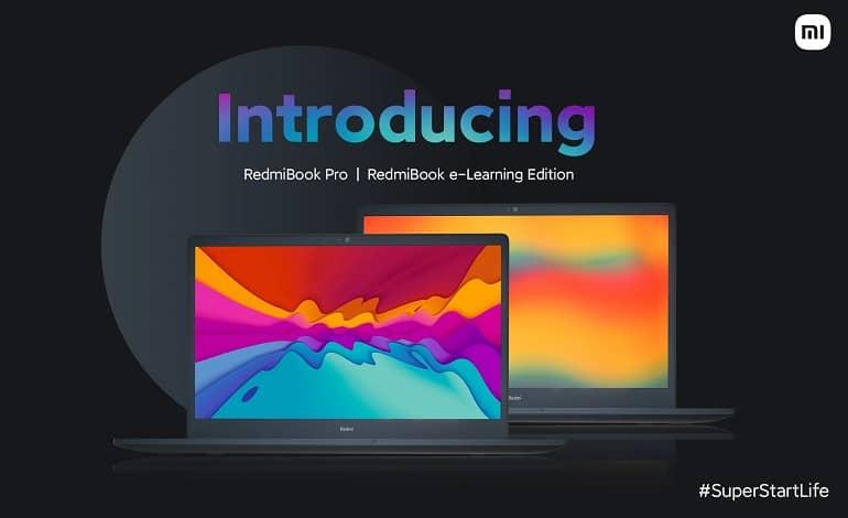 RedmiBook Pro and RedmiBook eLearning Edition - رونمایی شیائومی از لپ تاپ ردمی بوک 15 پرو و e-Learning Edition