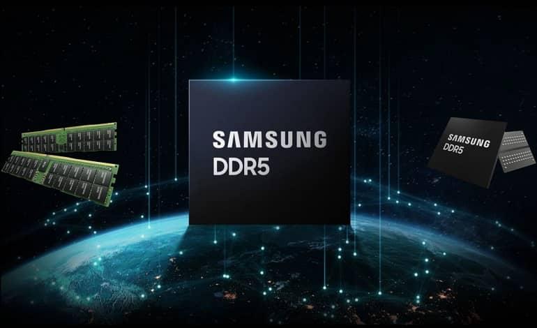 Samsung DDR5 512 GB 7.2 Gbps Memory Modules - رونمایی سامسونگ از حافظه 512 گیگابایتی DDR5 با سرعت 7.2 گیگابایت بر ثانیه