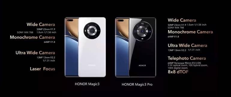 honor magic 3 pro ofic - آنر مجیک 3 و مجیک 3 پرو معرفی شد