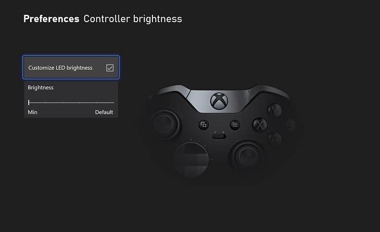 microsoft xbox night mode feature dim screen controller led - حالت شب جدید ایکس باکس با امکان کاهش نور صفحه، کنترلر و دکمه پاور