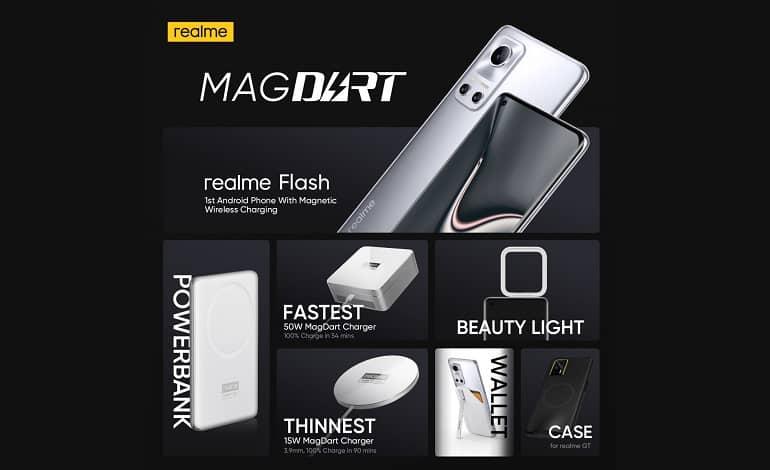 realme magdart brings magnetic wireless charging to android - ریلمی از اکوسیستم MagDart رونمایی کرد