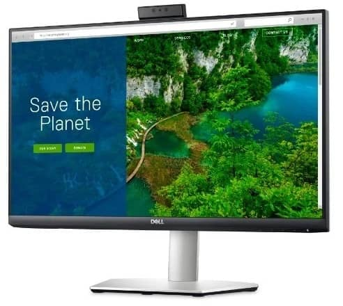 s2722dc front view 02 - رونمایی دل از چند مانیتور برای مصارف روزمره و کاربردهای مختلف