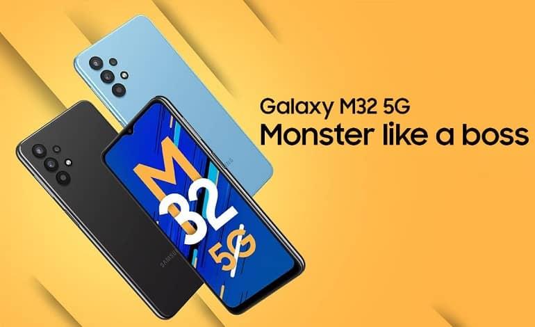 samsung galaxy m32 5g - گلکسی M32 5G با تراشه دایمنسیتی 720 معرفی شد