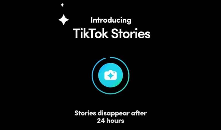 tiktok stories in development - تیک تاک مشغول آزمایش ویژگی استوری است