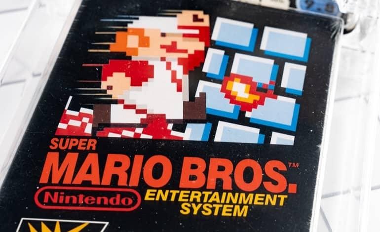 unopened copy super mario bros sells 2 million record - نسخه بازنشده Super Mario Bros به قیمت 2 میلیون دلار فروخته شد