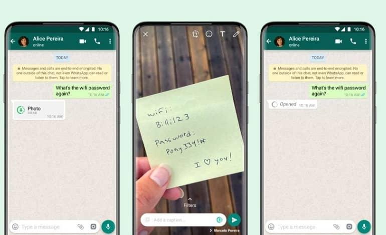 whatsapp gets view once photos - واتس اپ قابلیت View Once برای تصاویر و ویدیوها را دریافت کرد