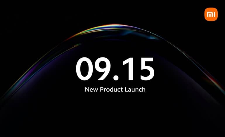 xiaomi september 15 launch event mi 11t mi pad 5 - شیائومی دعوتنامه 15 سپتامبر معرفی محصولات خود را ارسال کرد