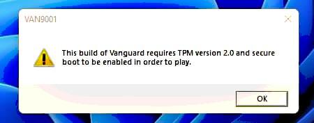 1630826398 valorant vanguard tpm 2.0 source  anti cheat police department twitter - بازی Valorant در ویندوز 11 به TPM 2.0 و Secure Boot نیاز دارد