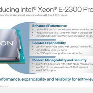 19z8eTwtKiMTANJm 300x300 - اینتل پردازنده های سری Xeon E-2300 را معرفی کرد