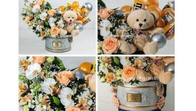 51210 390x220 - تهیه هدیه گل برای تولد پسر