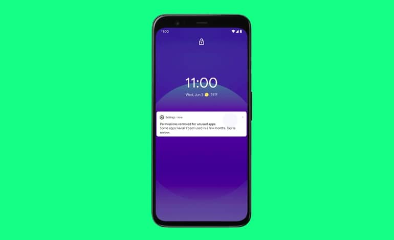 Android 11 auto revoke permissions - ویژگی بازنشانی خودکار مجوزهای اندروید 11 به نسخه های قدیمی پلتفرم می آید