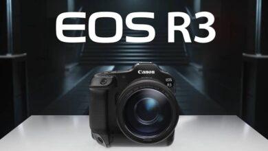 Canon announces EOS R3 with eye control autofocus 390x220 - دوربین بدون آینه جدید کانن EOS R3 با فوکوس خودکار کنترل چشم