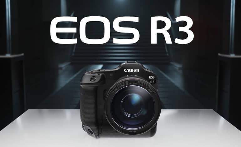 Canon announces EOS R3 with eye control autofocus - دوربین بدون آینه جدید کانن EOS R3 با فوکوس خودکار کنترل چشم