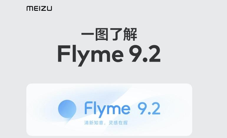 Flyme 9 - انتشار آپدیت Flyme 9.2 برای سری میزو 18 و 17 در ماه اکتبر