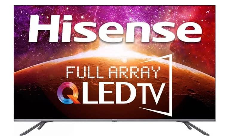 HiSense 4K QLED TV - تلویزیون جدید 55 اینچی 4K QLED هایسنس با طراحی بدون حاشیه