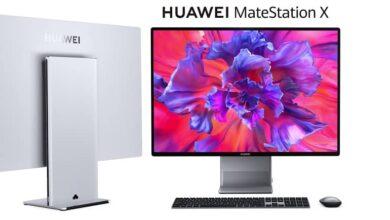 Huawei MateStation X 390x220 - معرفی هواوی MateStation X با نمایشگر لمسی و پردازنده AMD