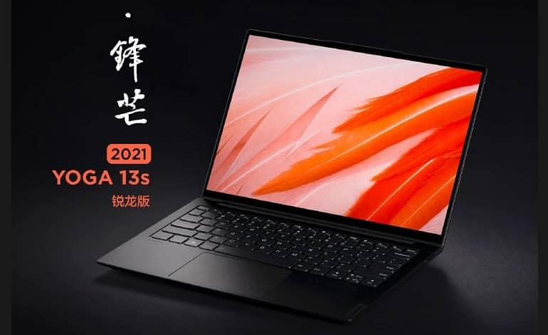 Lenovo YOGA 13s 2021 Ryzen Edition - لپ تاپ جدید لنوو یوگا 13s 2021 رایزن ادیشن با ویندوز 11