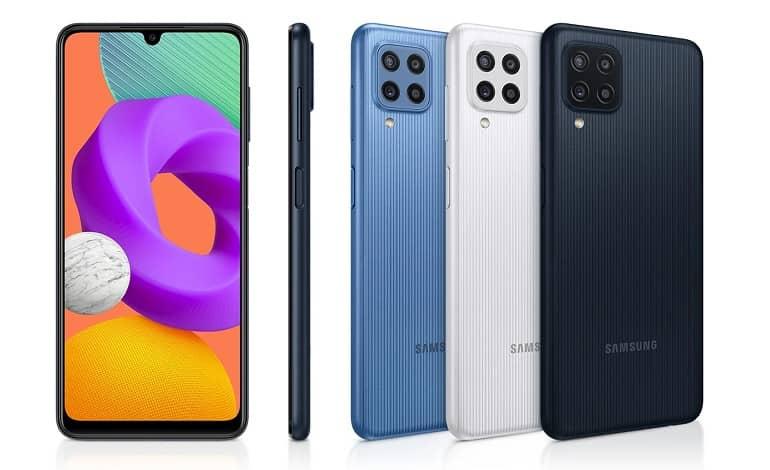 Samsung Galaxy M22 - سامسونگ از گوشی گلکسی M22 رونمایی کرد.