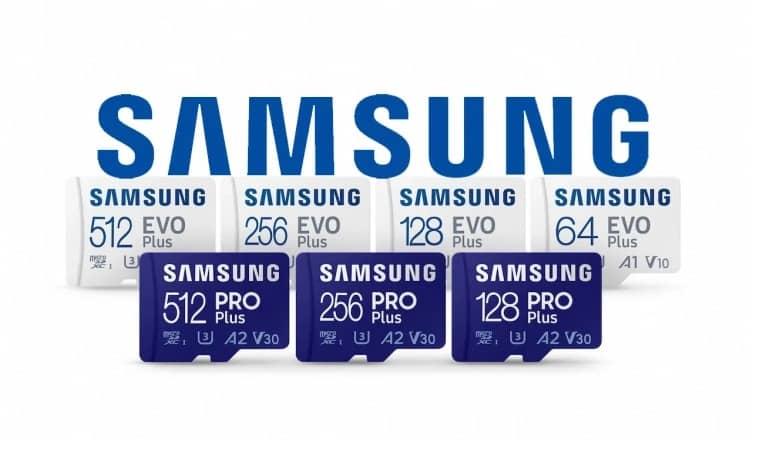 Samsung unveils new micro SD cards - رونمایی سامسونگ از کارت های حافظه جدید PRO Plus و EVO Plus