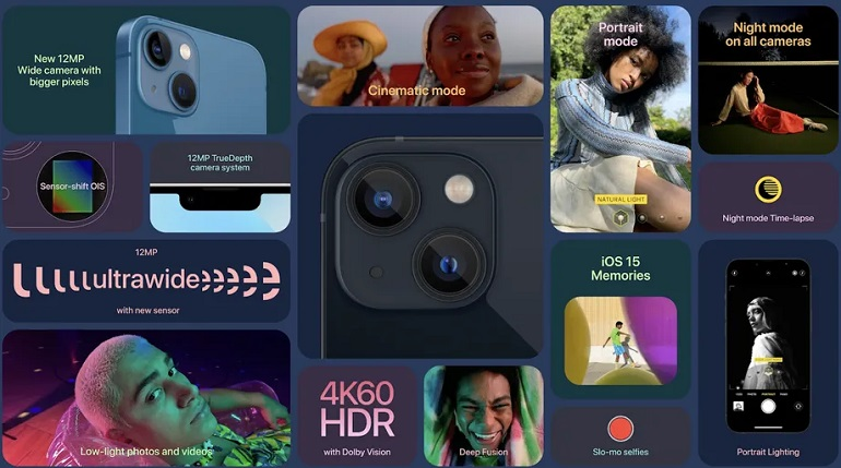 Screen Shot 2021 09 14 at 1.51.10 PM - اپل آیفون 13 و آیفون 13 مینی با ناچ کوچکتر و باتری بزرگتر معرفی شد