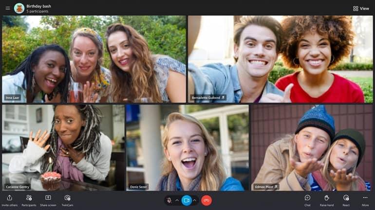 Skype unveils its new overhauled UI 1 - اسکایپ از رابط کاربری جدید خود رونمایی کرد