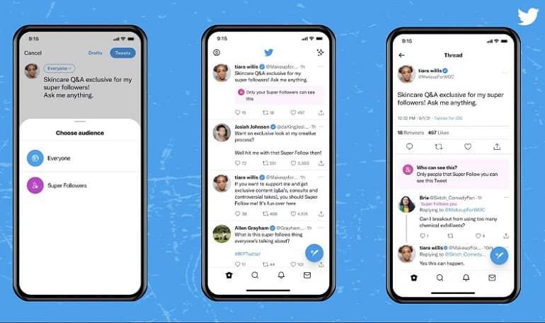 Twitter Super Follows - توییتر قابلیت Super Follows را در دسترس قرار داد