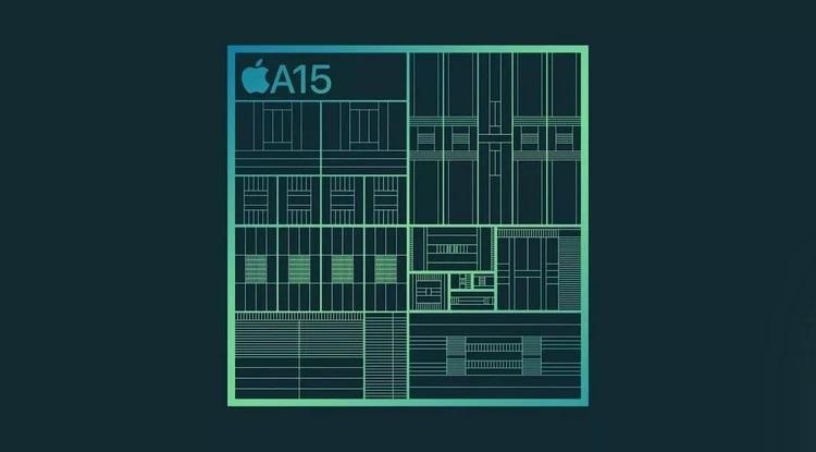 aa15 - تراشه 5 نانومتری A15 Bionic اپل معرفی شد