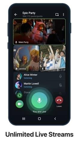 aed1cb7af8c96e961b1a - تلگرام 8.0 منتشر شد: پخش زنده، تنظیم فوروارد پیام و موارد دیگر
